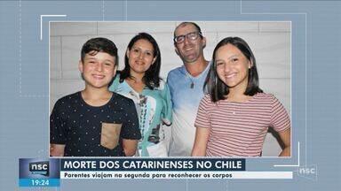 Familiares viajam ao Chile na segunda (27) para reconhecer corpos dos brasileiros - Familiares viajam ao Chile na segunda (27) para reconhecer corpos dos brasileiros