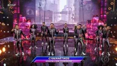 Cybernétikos se apresentam no Dança de Grupo com Hip Hop e Rock - Confira apresentação