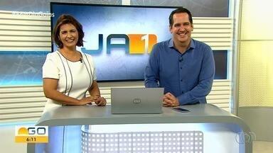 Confira os destaques do Jornal Anhanguera 1ª Edição desta terça-feira (28) - Programa é apresentado por Lilian Lych e Luciano Cabral.