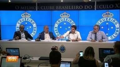 Diretoria do Cruzeiro dá resposta à matéria do Fantástico sobre investigação no clube - Diretoria do Cruzeiro dá resposta à matéria do Fantástico sobre investigação no clube