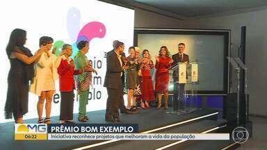 Professor Bráulio Soares vence o Prêmio Bom Exemplo 2019 na categoria Cidadania - Iniciativa reconhece projetos que melhoram a vida da população.