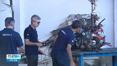 PF concluiu trabalhos preliminares onde caiu o avião com Gabriel Diniz e dois pilotos - Um inquérito vai apurar se houve crime de atentado contra a segurança do transporte aéreo.