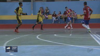 Taça EPTV de Futsal: Time de São Carlos se prepara para final - É a segunda vez que equipe chega até o fim da competição, a última vez foi há 29 anos.