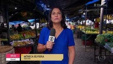 Confira como estão as compras nas feiras do país - Valéria Almeida, Luiza Zveiter e Mônica Silveiramostram como estão os preços em cada estado