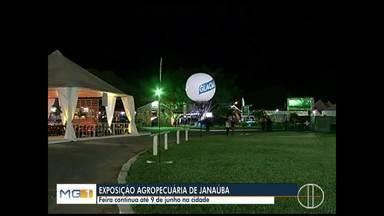 Exposição Agropecuária de Janaúba deve receber 300 mil pessoas até o dia 9 de junho - Abertura oficial da feira foi nessa sexta-feira.