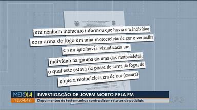 Depoimento de testemunha contradiz o que foi dito por policial que atirou em motoboy - O policial Wanderson Teixeira, que atirou em Leandro Pires, está preso.