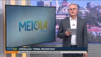 Vereador de Matinhos é preso em operação que investiga golpes na venda de imóveis - A defesa do advogado não quis se manifestar.