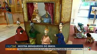 Começa nesta terça-feira (04) a mostra Brinquedos do Brasil - São brinquedos de todos os estados brasileiros. A entrada é gratuita.
