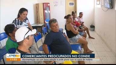 Paraíba tem oito casos de malária confirmados em menos de três meses, em 2019 - Primeiro caso foi confirmado em 29 de março. Dois casos foram registrados neste fim de semana.