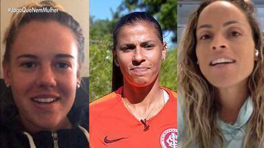 Conheça a história das gaúchas convocadas para a seleção feminina de futebol - Além delas, jogadora do Inter escalada para o time brasileiro foi cortada devido a lesão.