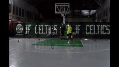 Veja parte do desafio vencido por Leonardo Serrão Júnior, que vai visitar Casa da NBA - Atleta do JF Celtics estará em São Paulo nos dias 15 e 16 de junho.