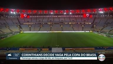 Corinthians decide vaga na Copa do Brasil - Time precisa vencer o Flamengo, no Maracanã, pra avançar às quartas de final