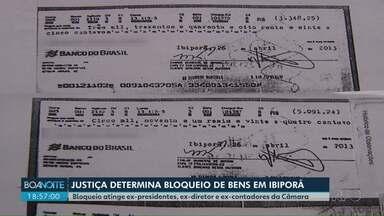 Justiça determina o bloqueio de bens em Ibiporã - Bloqueio atinge ex-presidentes, ex-diretor e ex-contadores da Câmara.