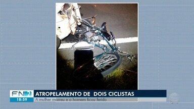 Mulher morre atropelada em estrada vicinal de Presidente Epitácio - Polícia Civil abriu inquérito para investigar o caso.