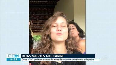 Duas mortes suspeitas de H1N1 no Cariri - Confira mais notícias em g1.globo.com/ce