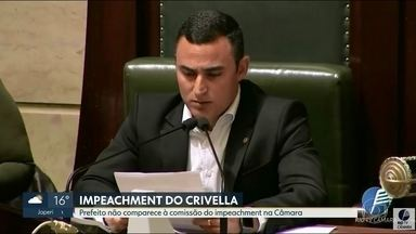 Marcelo Crivella não comparece à Comissão do Impeachment na Câmara dos Vereados - O prefeito foi convocado para dar esclarecimentos sobre o contrato com empresas de publicidade, mas não era obrigado a comparecer.
