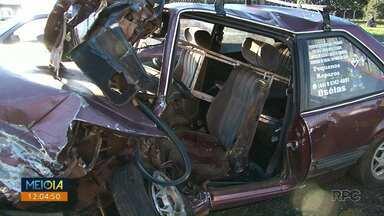 Um morre e outros três ficam feridos em acidente na PR 323, em Jussara - A batida foi nesta terça- feira (05) por volta das 21h.
