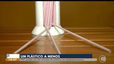 Lei proíbe uso de canudos de plástico em Teresina - Lei proíbe uso de canudos de plástico em Teresina