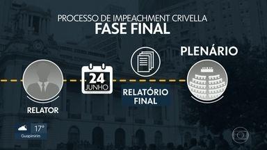 Processo de impeachment de Marcelo Crivella entra na fase final - Vereadores da Comissão Processante querem levar relatório final para ser votado em plenário em 3 semanas.