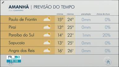 Meteorologia prevê quinta-feira de temperaturas amenas no Sul do Rio - Confira os termômetros.