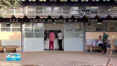 Moradores reclamam da falta de médicos em várias cidades do DF - Pacientes contam que não conseguem atendimento. Secretaria de Saúde diz que vai resolver problemas, mas não informou como.