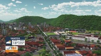 Confira a previsão do tempo para este sábado (8) - Previsão para a Baixada Santista e Vale do Ribeira.