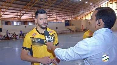 Craques da Copa Morena falam sobre importância da competição - Grandes jogadores do futsal brasileiro destacam nível técnico do campeonato.