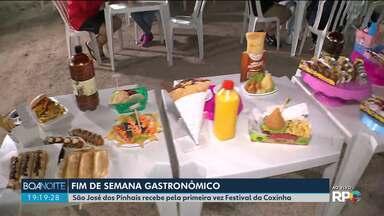 São José dos Pinhais recebe pela primeira vez o Festival da Coxinha - Opção para aproveitar o fim de semana provando o quitute mais famoso do Brasil.