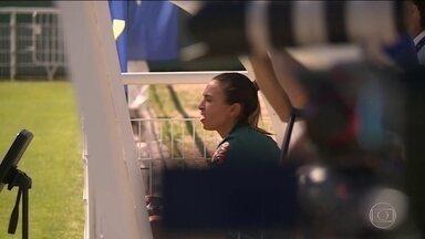 Marta está fora da estreia do Brasil na Copa do Mundo feminina, na França - Apesar de recuperada da lesão na coxa, camisa 10 ainda não tem condições físicas de jogar uma partida.