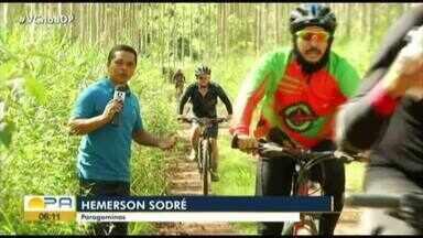 Trilha cicloturística reúne centenas de ciclistas em Paragominas - 2ª Edição do evento aconteceu no domingo (9)