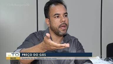 Preço do gás aumenta 24% nos últimos dois anos no Tocantins - Preço do gás aumenta 24% nos últimos dois anos no Tocantins