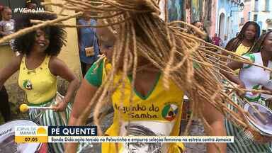 Notícias da Copa América em Salvador e a 'Copa das Manas': veja no bloco de esporte do JM - Confira as notícias do esporte.