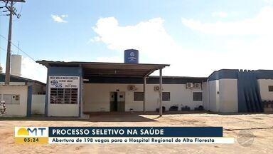 Hospital Regional de Alta Floresta está com processo seletivo - Hospital Regional de Alta Floresta está com processo seletivo