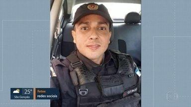 Policial militar morre baleado em tentativa de assalto na Pavuna - O cabo da Polícia Militar Rodrigo Queto Sardinha, de 33 anos, que estava com o irmão dele, também policial militar, foi balaedo na cabeça durante tentativa de assalto na manhã desta segunda (10).