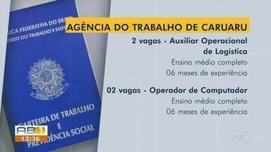 Confira as 51 vagas de emprego disponíveis para esta segunda-feira (10) - Oportunidades são para Caruaru, Santa Cruz do Capibaribe, Garanhuns, Bezerros e Arcoverde.