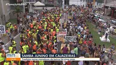 Arrastão Junino atrai centenas de pessoas em Cajazeiras - Evento é realizado há cinco anos.