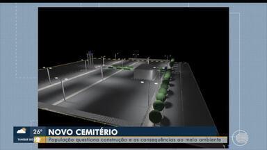 População questiona construção de novo cemitério em Floriano - População questiona construção de novo cemitério em Floriano