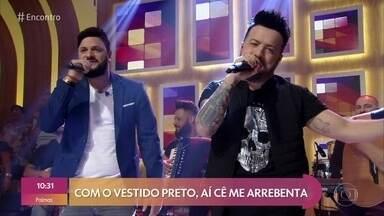 Diego & Victor Hugo canta 'O Alvo' - Confira