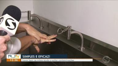 Doenças respiratórias: lavar bem as mãos ajuda a evitar contaminações - É preciso fazer com frequência e existe o jeito certo.