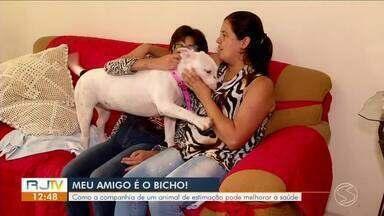 Série 'Meu Amigo é o Bicho' mostra amor incondicional entre donos e animais - Parte II - Conheça a história do Samuel e da Brenda.
