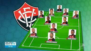 Vitória e Oeste se enfrentam nesta terça-feira, pela série B do Campeonato Brasileiro - Partida acontece a partir das 20h30. Veja a provável escalação do rubro-negro baiano para o jogo.
