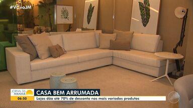 Lojas de decoração do Caminho das Árvores prometem liquidação com até 70% de desconto - Mais de 40 lojas participam da promoção.