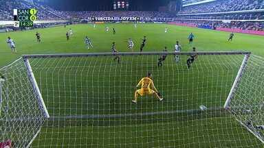 O gol de Santos 1 x 0 Corinthians pela 9ª rodada do Campeonato Brasileiro - O gol de Santos 1 x 0 Corinthians pela 9ª rodada do Campeonato Brasileiro