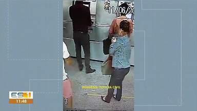 Bandidos fingem ser funcionários de banco e clonam cartões em Piúma, no Sul do ES - Criminosos agiram em agência no Centro da cidade.
