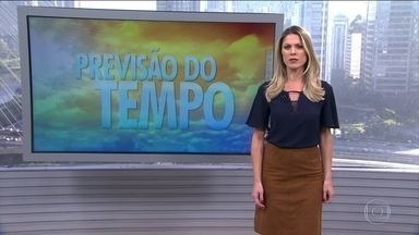Previsão de temporal para o litoral do Nordeste - A pior condição é para o norte do Ceará e do Rio Grande do Norte até Sergipe. Pode chover em parte do Norte e do sul gaúcho. O tempo fica firme em quase todo o país, no Centro-Oeste, interior do Nordeste e no Sudeste.