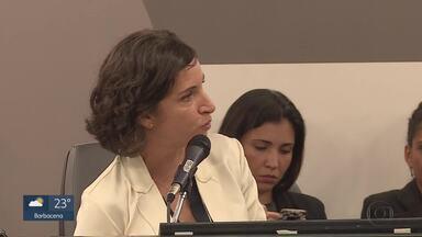 Bate-boca marca reunião da secretária de Educação de MG com deputados na ALMG - Júlia Sant'Anna foi sabatinada pelos deputados no projeto Assembleia Fiscaliza.