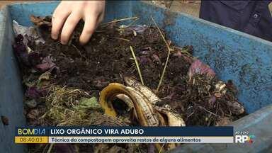 Lixo orgânico é transformado em adubo - Dicas de como fazer uma compostagem.