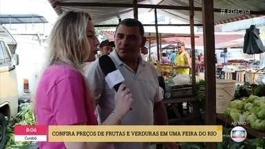 'É de Casa' faz um giro pelas feiras no Brasil - Confira os preços da frutas, legumes e verduras em diferentes cidades