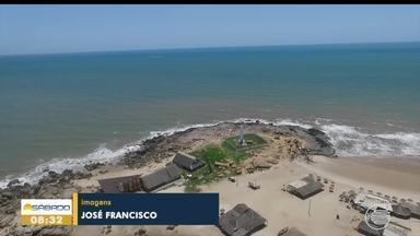 Quantidade de lixo vinda do oceano para o litoral do Piauí chama a atenção - Quantidade de lixo vinda do oceano para o litoral do Piauí chama a atenção