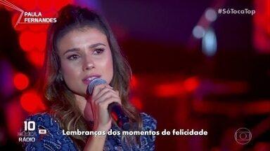 Paula Fernandes canta 'Hora Certa' - Artista está no ranking música rádio Rio Grande do Norte